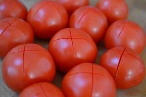 Pomidory przed sparzeniem