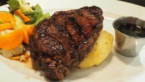 Stek z warzywamia