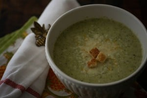 Zupa brokułowo-kataflorowa